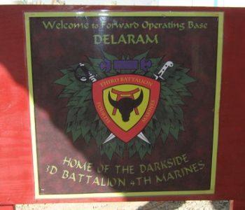 FOB Delaram Marine Corps Base in Delaram, Afghanistan