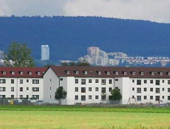 Patrick Henry Village Army Base in Heidelberg, Germany