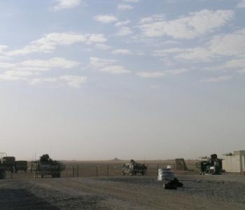 FOB Sykes Army Base in Ninewah Province, Iraq