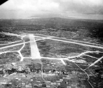 Yontan Airfield Marine Corps Base in Okinawa, Japan