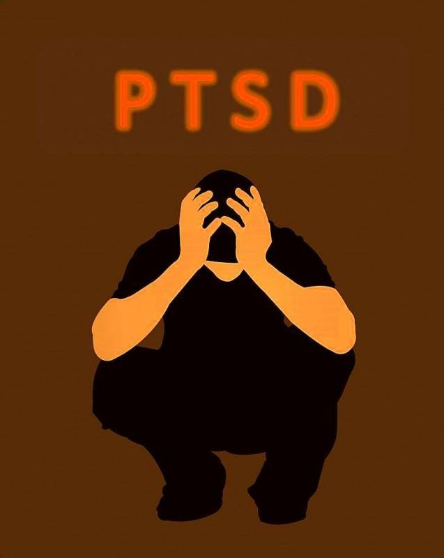 Military with PTSD