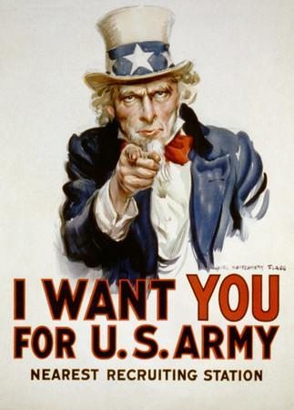 Army recruitment campaign - 3 8