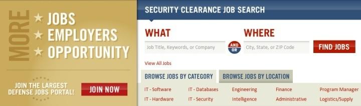 Job Search Screen