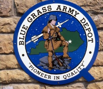 Blue Grass Army Depot Base in Richmond, KY