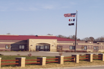 Camp Dodge Army Base in Johnston, IA