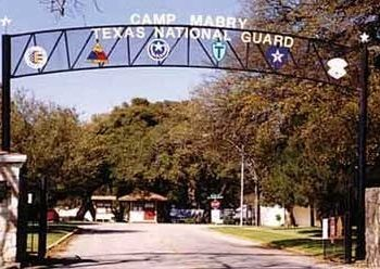 Camp Mabry Army Base in Austin, TX