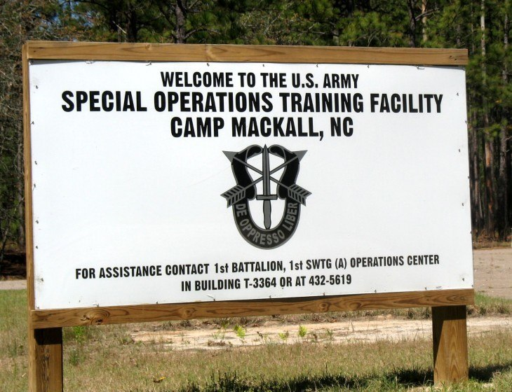 Photos Of Camp Mackall Army Base In Southern Pines NC