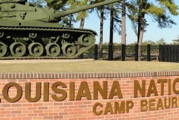 Camp Beauregard Army Base in Pineville, LA