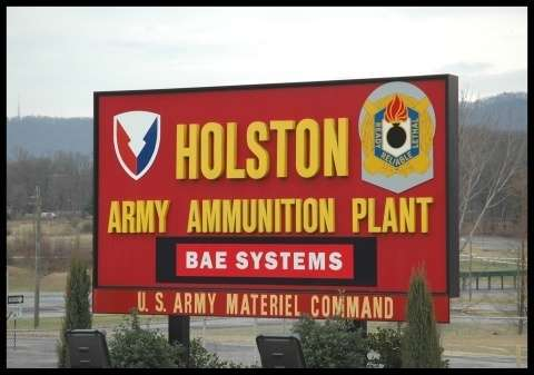 Holston Army Plant Army Base in Kingston, TN