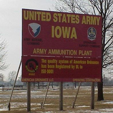 Iowa Army Plant Army Base in Des Moines County, IA