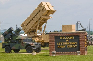 Letterkenny Army Depot Army Base in Chambersburg, PA