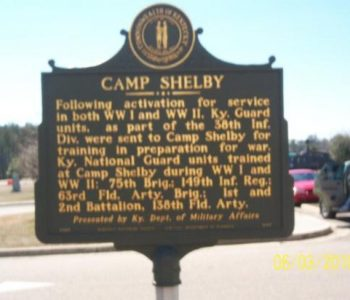 Camp Shelby Army Base in Hattiesburg, MS