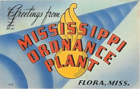 Mississippi Ordinance Plant Army Base Monroe County, MS