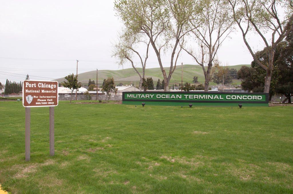 Military Ocean Terminal Concord Navy Base Concord, CA