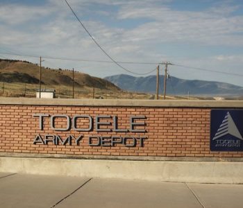 Tooele Army Depot Base in Tooele, UT