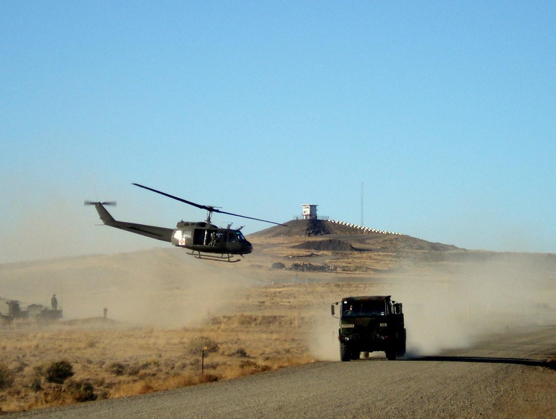 Yakima Training Center Army Base In Yakima Wa