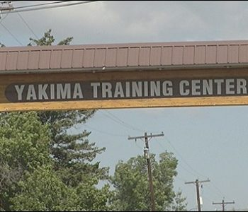 Yakima Training Center Army Base in Yakima, WA