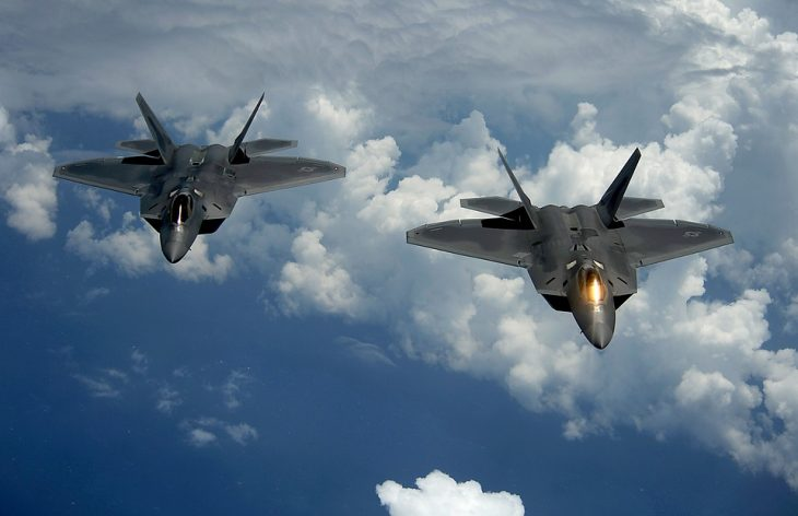 Air Force F-22 Gets Spotted