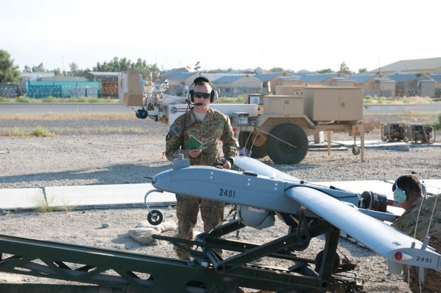 US Military knocks a second drone out of international skies