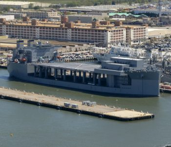 Massive Mobile Naval Military Base Sets Course To Middle East