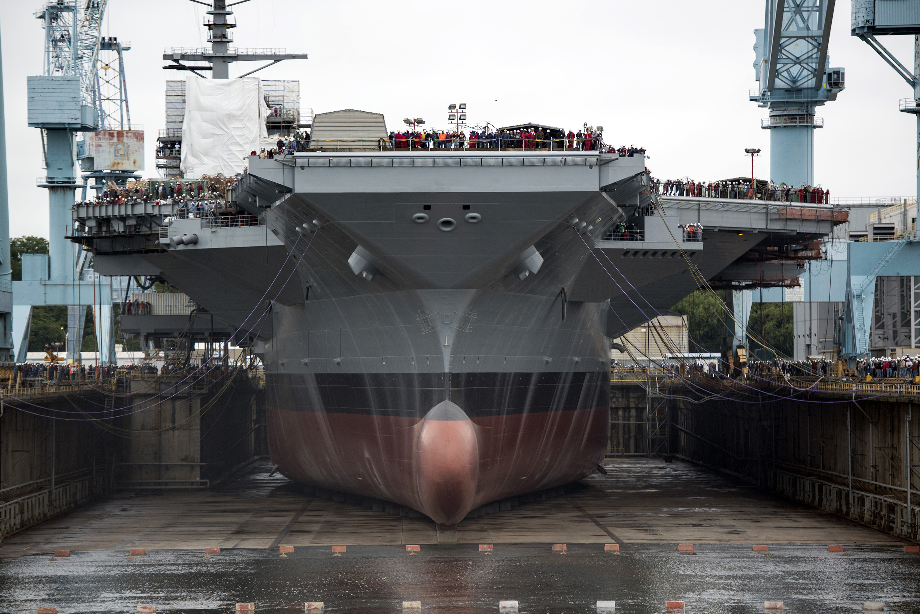 Trump Boast about the Navy ship, USS Ford Tech