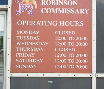 Robinson Barracks Commissary