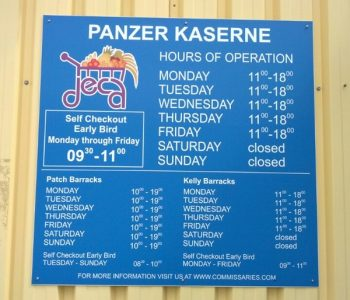 Panzer Kaserne Commissary