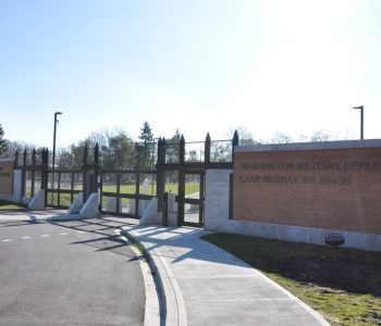 Camp Murray Army Base in Tacoma, WA