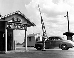 Camp Swift Army Base in Bastrop County, TX