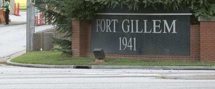Fort Gillem Entrance
