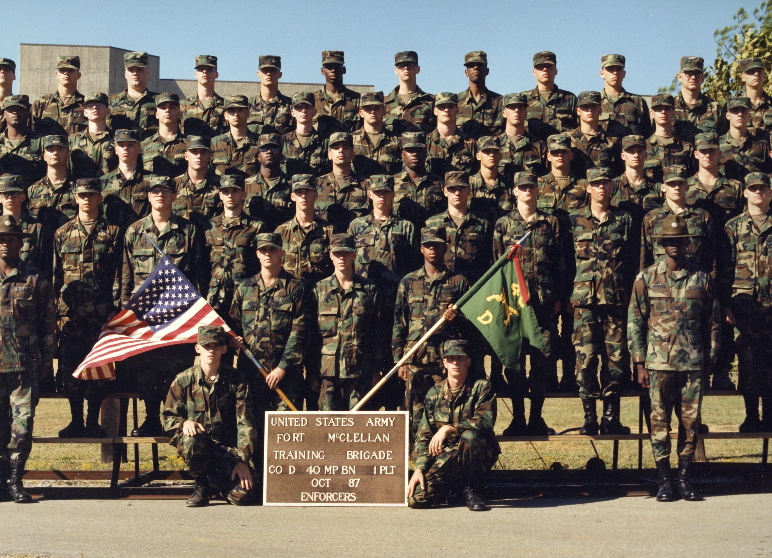 Fort McClellan Army Base (Training Center) in Anniston, AL